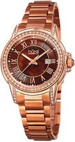 Burgi Women's Stainless Steel Watch
