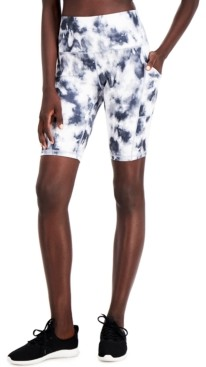Ideology Tie-Dyed Pocket Bike Shorts, Created for Macy's