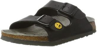 Birkenstock Unisex's Flor ESD Arizona Antistatic Work Shoe Birko Pile Size 36-Slim Footbed