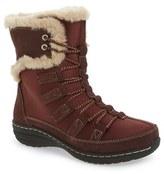 Aetrex Women's Waterproof Faux Fur Trim Boot