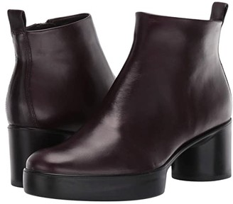 Ecco Shape Sculpted Motion 35 Ankle Boot (Fig) Women's Boots