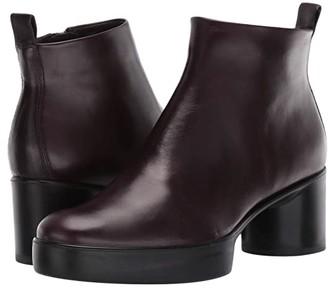 Ecco Shape Sculpted Motion 35 Ankle Boot (Black) Women's Boots