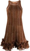 Missoni knitted stripe mini dress