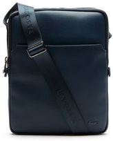 Lacoste Men's Gal Coated Canvas Flat Zip Bag