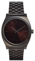 Nixon Men's 'The Time Teller' Stainless Steel Bracelet Watch, 37Mm