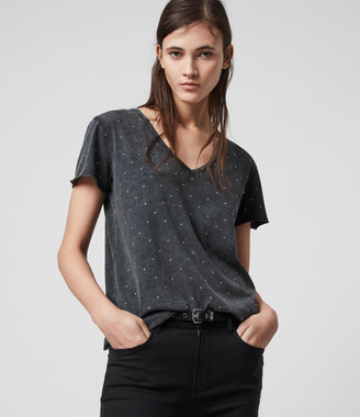 AllSaints Emelyn Stud T-Shirt