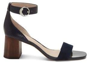 Louise et Cie Gabriel Ankle Strap Leather Sandals