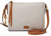 Fossil Emma Heart-Print East/West Cross-Body Bag