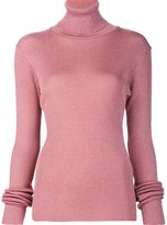 Marios 'Shimmery' ribbed turtleneck pullover