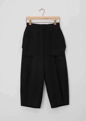 Noir By Kei Ninomiya Wool Exposed Pocket Pants