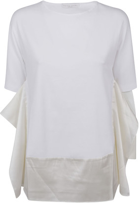 Fabiana Filippi Side Ruffled T-shirt