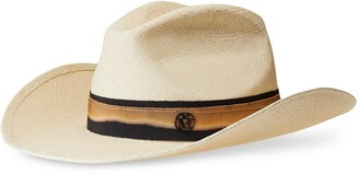 Maison Michel Austin woven panama hat