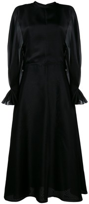 Emilia Wickstead 'Fede' long sleeve dress