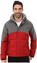 Nautica Color Block Quilted Bomber