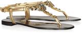 Giuseppe Zanotti Swarovski crystal-embellished leather sandals