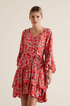 Seed Heritage Tiered Ruffle Dress