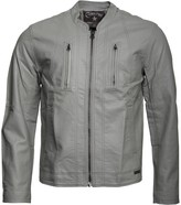Converse Mens Zip Pocket Pu Bomber Jacket Griffin