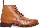 Grenson Sharp Wingtip Leather Boots
