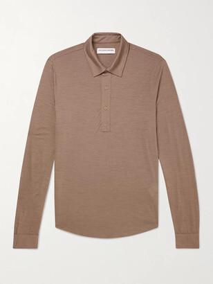 Orlebar Brown Sebastian Merino Wool Polo Shirt