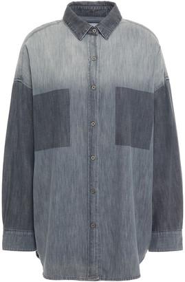 IRO Degrade Cotton-chambray Shirt