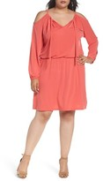 MICHAEL Michael Kors Plus Size Women's Jersey Cold Shoulder Dress