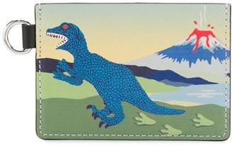 Paul Smith Dinosaur print coin pouch