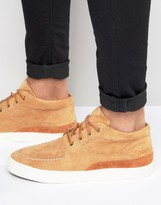 Pointer Mathieson Mid Plimsolls In Suede