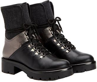 Aquatalia Jamie Leather & Wool Weatherproof Boot