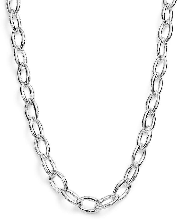 Ippolita Sterling Silver Glamazon® Bastille Link Chain Necklace, 18""