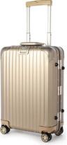 Rimowa Topas four-wheel titanium cabin suitcase 55cm