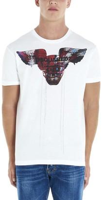 DSQUARED2 Logo Print T-Shirt