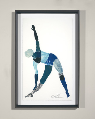 "Robert Robinson RFA Fine Art ""Yoga - Triangle Pose"" Giclee Wall Art"