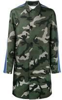 Valentino camouflage coat