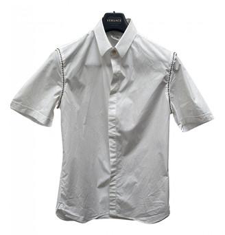 Versace White Cotton Shirts