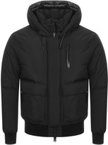 Mackage Nathan Down Bomber Jacket Black