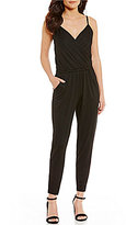 Trina Turk Johnsie Surplice Jumpsuit