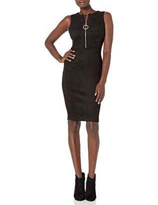Calvin Klein Women's Sleeveless Sheath with Zipper Front Dress