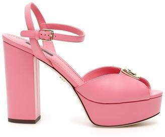 Dolce & Gabbana Pink Keira Sandals