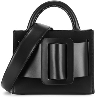 Boyy Bobby 18 Black Leather Top Handle Bag