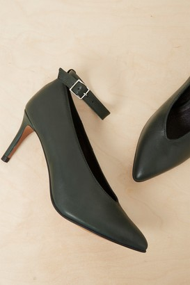 French Connenction Adrianna Ankle Strap Heel