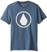 Volcom Solid Stone Short Sleeve Tee (Big Kids)