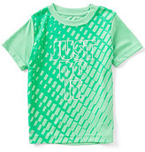 Nike Little Boys 4-7 Geo-Print Short-Sleeve Tee