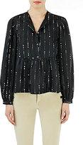 Isabel Marant Women's Embellished Gladys Blouse-BLACK