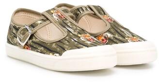 Pépé Tiger Print Sandals