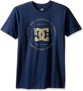 DC Men's Rebuilt SS T Shirt Blue 2XL