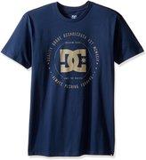DC Men's Rebuilt SS T Shirt Blue M