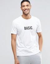 Asos Loungewear T-Shirt With Basic Print