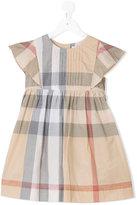 Burberry checkered dress - kids - Cotton - 12 yrs