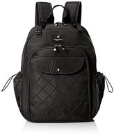 Baggallini BG by Ready To Run Baby Blk Backpack