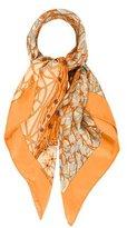 Hermes Axis Mundi II Silk Scarf
